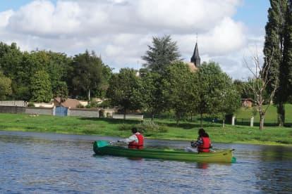 Canoë sur la Loire